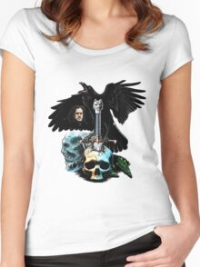 game of thrones poster Women's Fitted Scoop T-Shirt