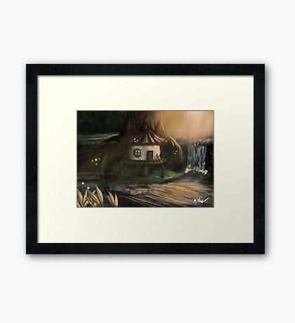 The Architects Hut Framed Print