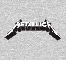Metallica Logo Limited One Piece - Long Sleeve