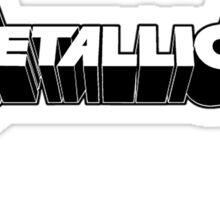 Metallica Logo Limited Sticker