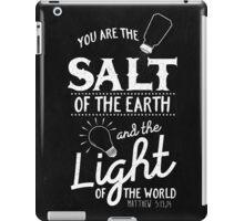 Matthew 5:13,14 iPad Case/Skin