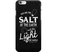 Matthew 5:13,14 iPhone Case/Skin