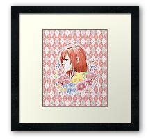 Kairi Kingdom Hearts Inspired Print  Framed Print