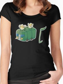 Bug Bus Women's Fitted Scoop T-Shirt