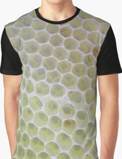 Bee crazy Honeycomb Graphic T-Shirt