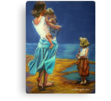 """""""By The Beautiful Sea"""" Canvas Print"""