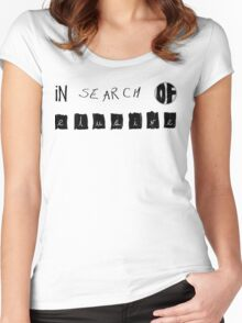 In Search Of Elusive Women's Fitted Scoop T-Shirt