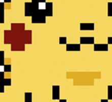 Pikachu Pokemon Yellow Edition Sticker