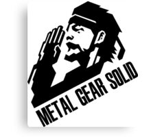 Metal Gear Solid Canvas Print