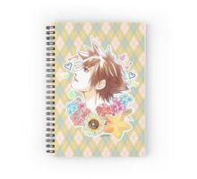 Sora Inspired KH Print Spiral Notebook