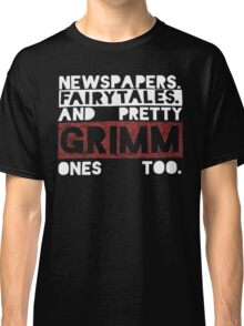Newspapers. Fairytales. Classic T-Shirt
