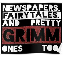 Newspapers. Fairytales. Poster