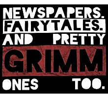 Newspapers. Fairytales. Photographic Print