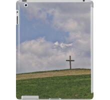 On a hill far away stood an old rugged cross iPad Case/Skin