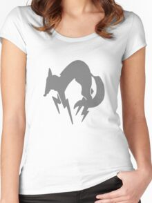 Metal Gear Fox Unit Women's Fitted Scoop T-Shirt