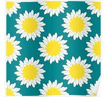 Camomile Pattern Poster