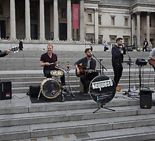keywest at International Busking Day in Trafalgar Square by Keith Larby