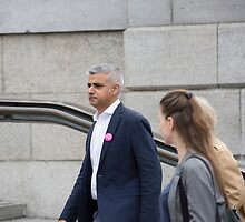 Mayor of London, Sadiq Khan by Keith Larby
