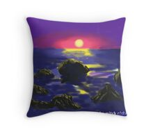 Warming earth Throw Pillow