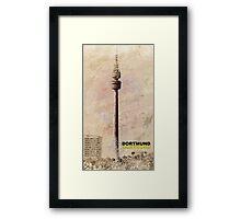 Dortmund TV Tower Florianturm Framed Print