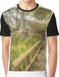 Rusty shed in the park Graphic T-Shirt