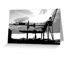 Goole Dockside Greeting Card