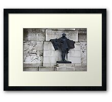 Royal Artillery Monument Framed Print