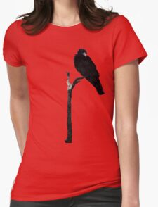 Punk Rock Raven Womens Fitted T-Shirt