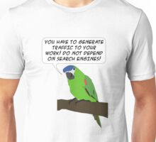 Traffic Parrot Unisex T-Shirt