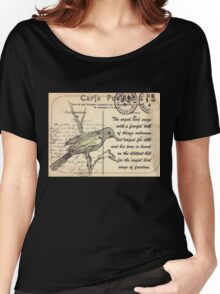 Why the caged bird sings Women's Relaxed Fit T-Shirt