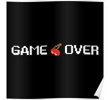 Pac Man Game Over Poster