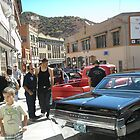 Classic Car Show in Bisbee by Ann Warrenton