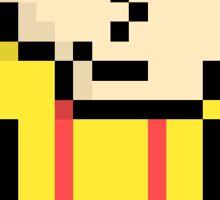Stewie Grifin Pixel Art Sticker