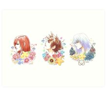 KH Golden Trio Print Art Print