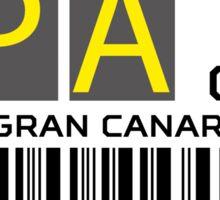 Destination Las Palmas Airport Sticker