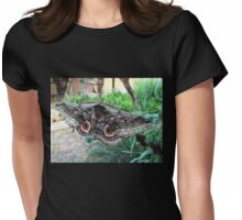 Speckled Emperor Moth Womens Fitted T-Shirt