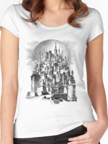 The Castle of Gormenghast Women's Fitted Scoop T-Shirt
