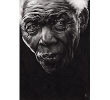 Nelson - Charcoal and Compressed Charcoal on paper Photographic Print