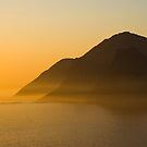 Sunset @ Chapman's Peak Drive by Martie Venter