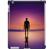 sunset man iPad Case/Skin
