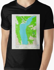 USGS TOPO Map Alaska AK Valdez D-7 360402 1949 63360 Mens V-Neck T-Shirt