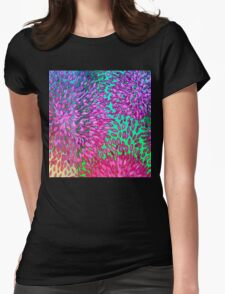 """Kiwi Lifestyle"" Flicky Splashy Pop ART Womens Fitted T-Shirt"