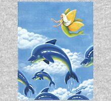 Dolphin Nymph voyages - acrylic painting Unisex T-Shirt