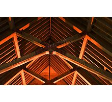 Trusses and Crossbeams Photographic Print