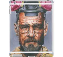 Oil Painting of Heisenberg iPad Case/Skin
