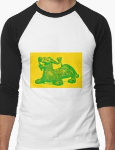 Green Dragon Men's Baseball ¾ T-Shirt