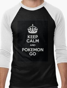 Keep pokemon go Men's Baseball ¾ T-Shirt