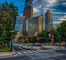 Benjamin Franklin Parkway by Adam Northam