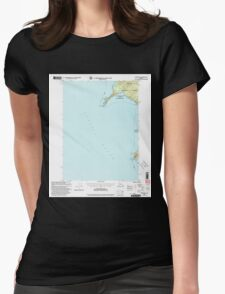 USGS TOPO Map Alaska AK Craig B-6 355278 2000 63360 Womens Fitted T-Shirt