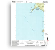 USGS TOPO Map Alaska AK Craig B-6 355278 2000 63360 Canvas Print